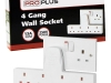 4 Gang Wall Socket €12.50