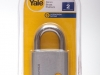 Yale 50mm Brass Padlock