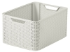 White Wicker Basked with handles €19.95